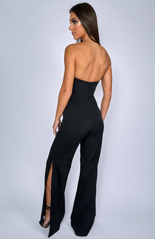 Rebel Heart Jumpsuit - Black
