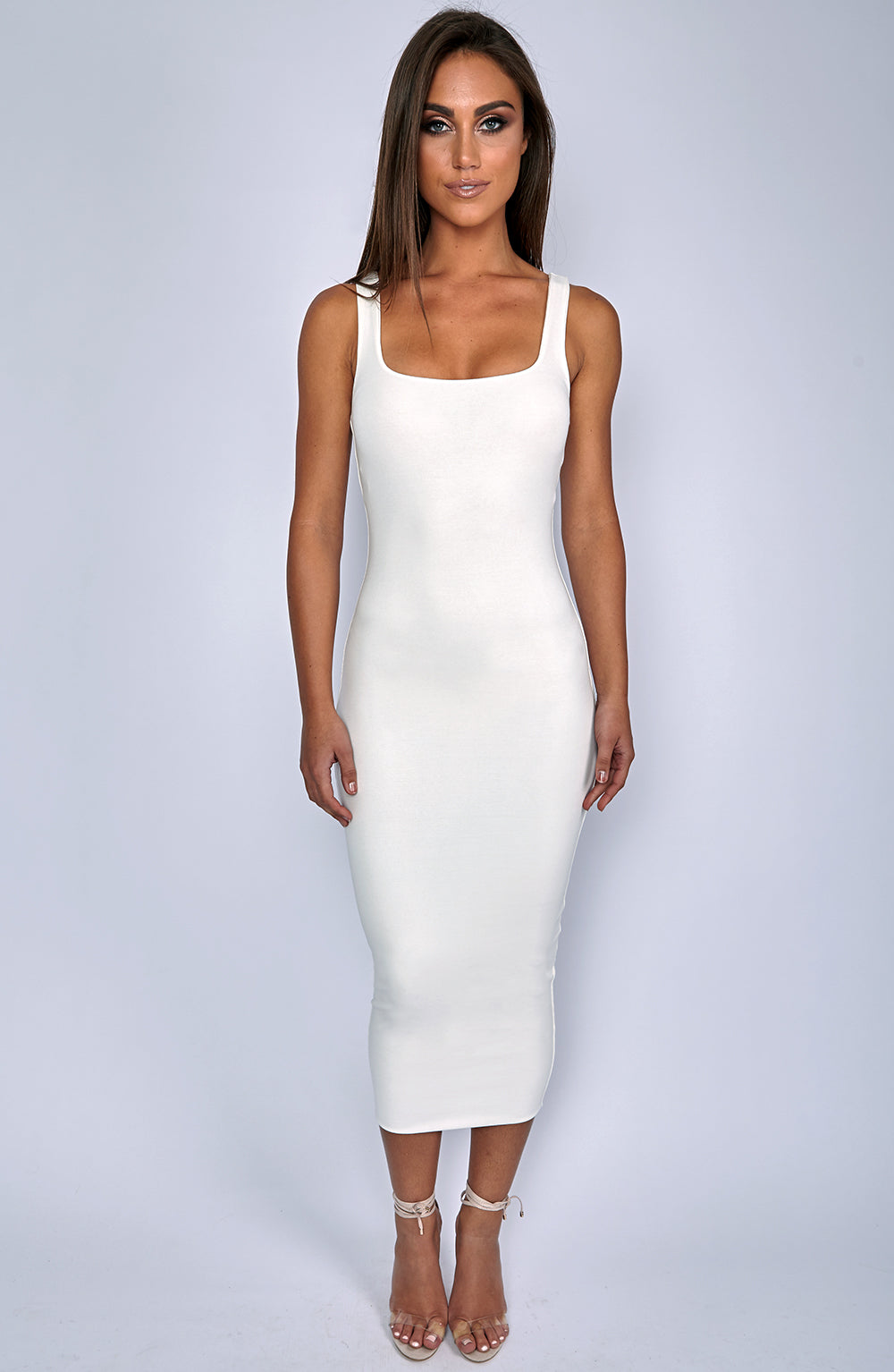 Basic Bish Dress - Cream
