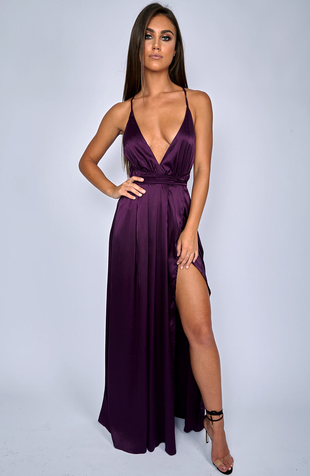 Lita Maxi Dress - Purple