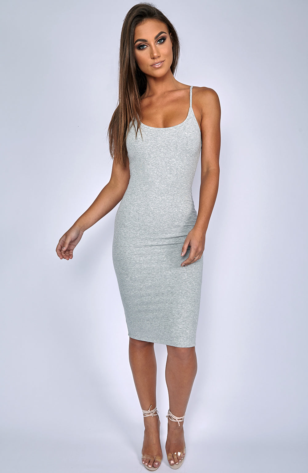 Zaphire Dress - Grey