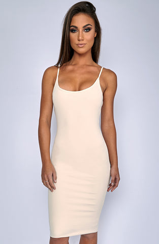 Zaphire Dress - Beige