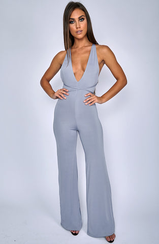 LA Bish Jumpsuit - Grey