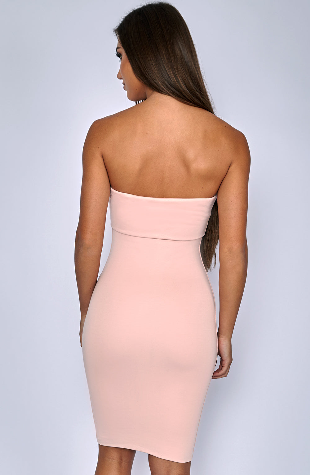Doubled Up Dress - Dusty Pink