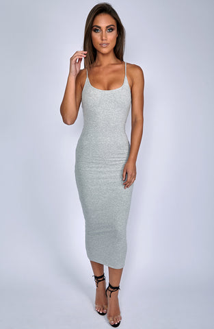 North West Maxi Dress - Grey