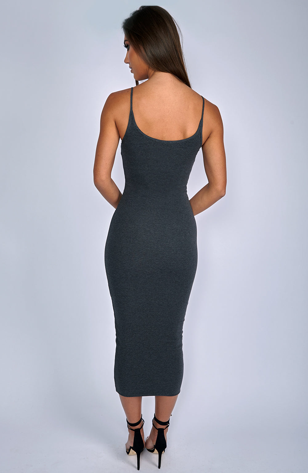 North West Maxi Dress - Charcoal