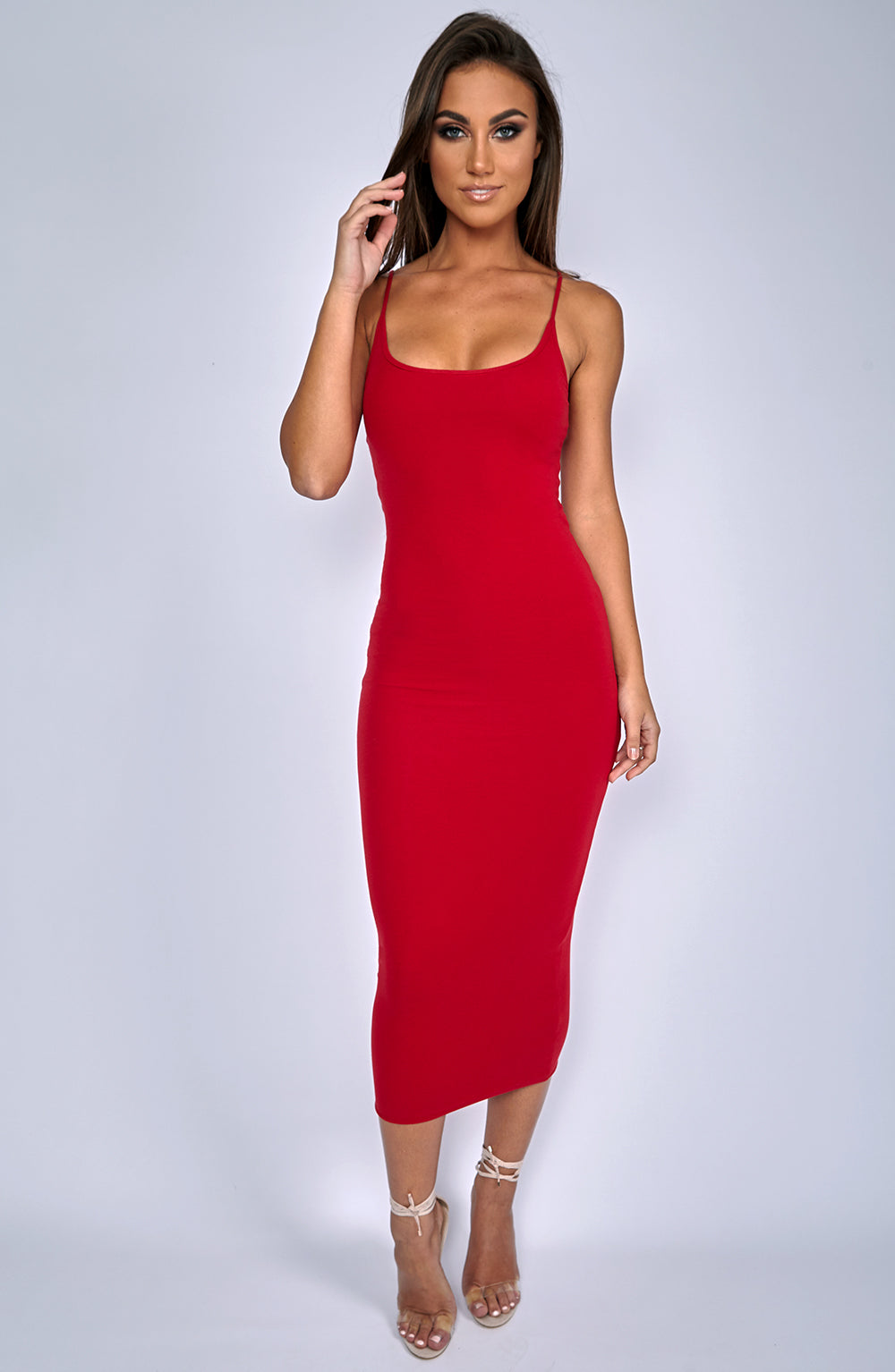North West Maxi Dress - Red