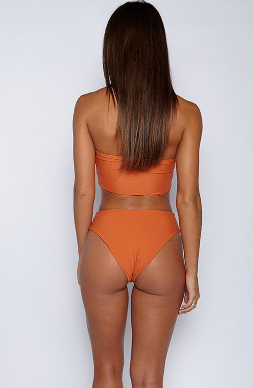 Alina Swimwear Set - Burnt Orange