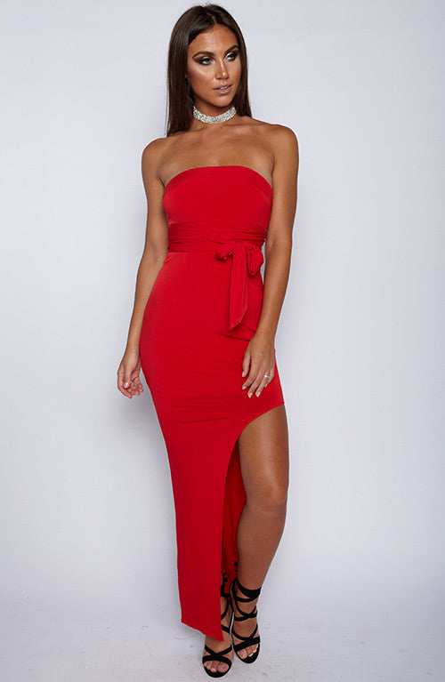 Unapologetic Dress - Red
