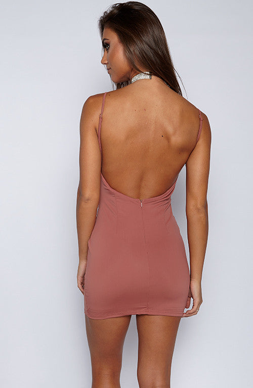 Mirage Dress - Mauve