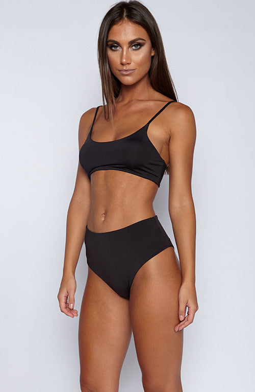 Stanza Swimwear Set - Black