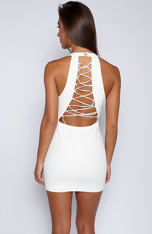 Ramzi Dress - White