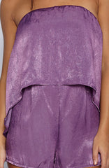Chase It Playsuit - Purple