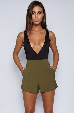 Right On Shorts - Khaki