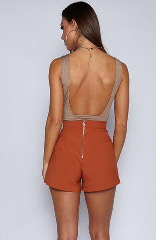 So fetch bodysuit leotard - Mocha