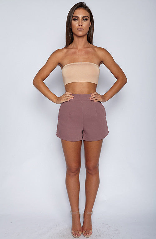 Right On Shorts - Mauve