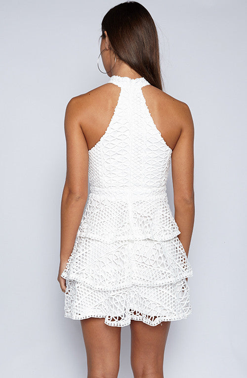 Tessa Dress - White
