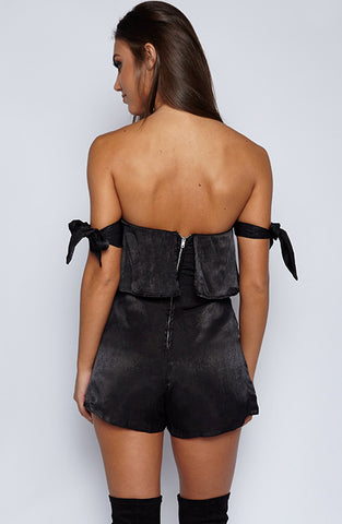 Oh La La Playsuit- Black