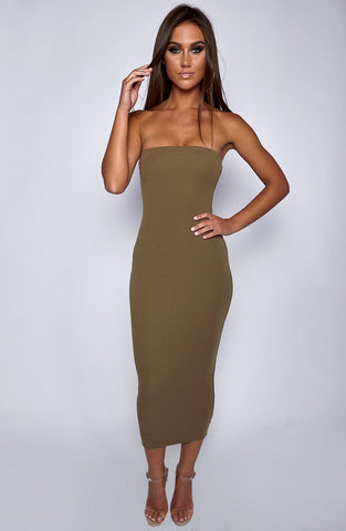 In Style Maxi Dress - Khaki