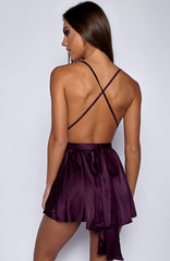 Unconditional Love Playsuit - Purple