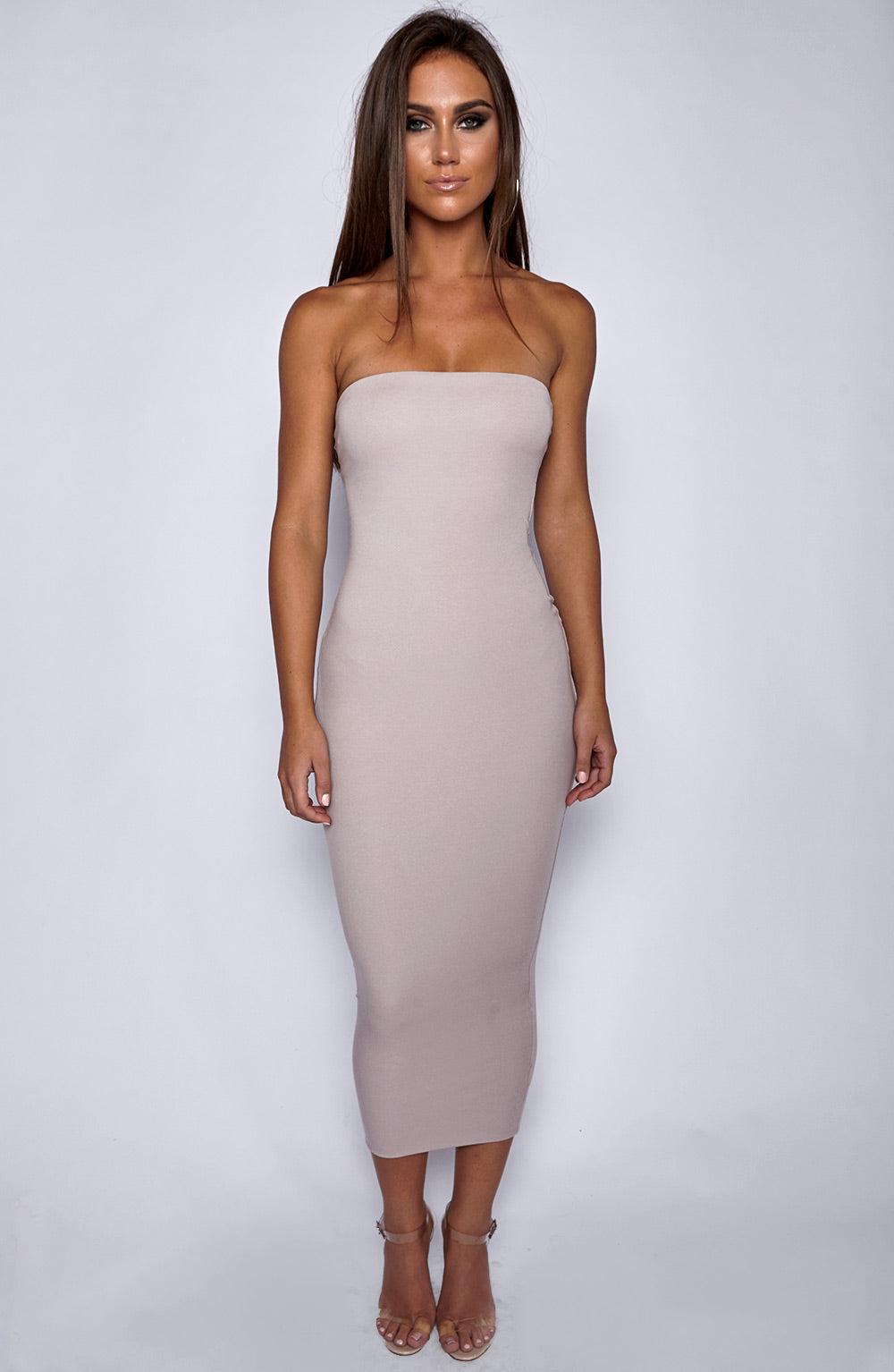 In Style Maxi Dress - Mocha