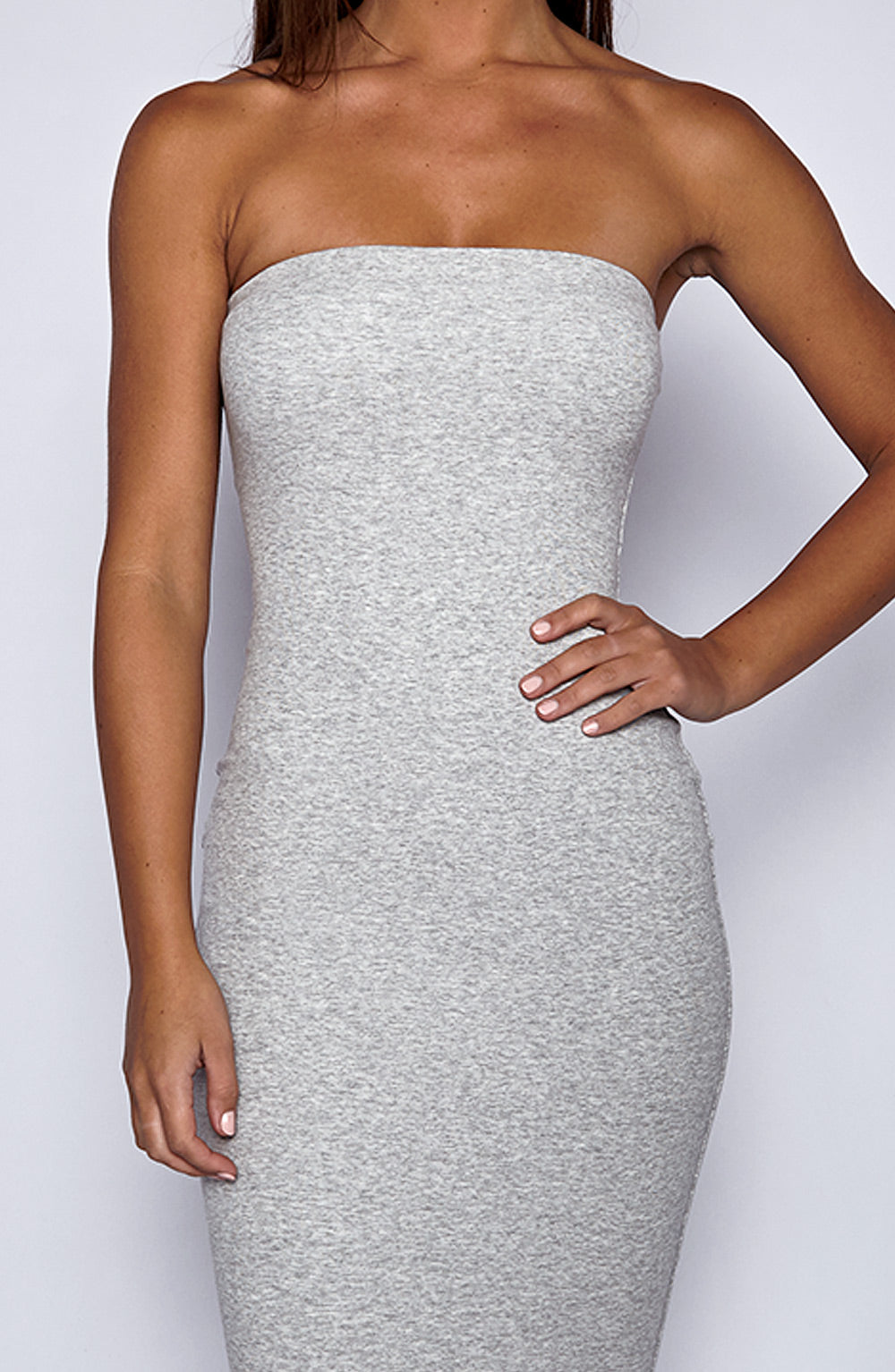 In Style Maxi Dress - Grey
