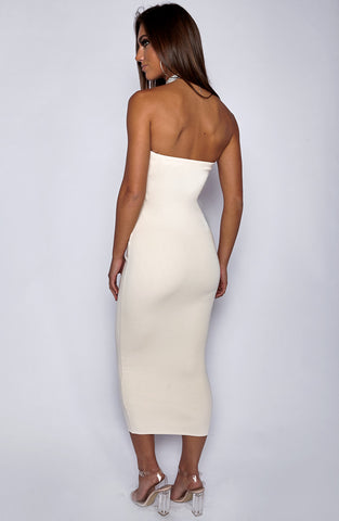 In Style Maxi Dress - Beige