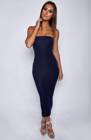 In Style Maxi Dress - Navy