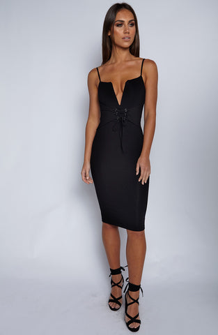 Bad Liar Dress - Black