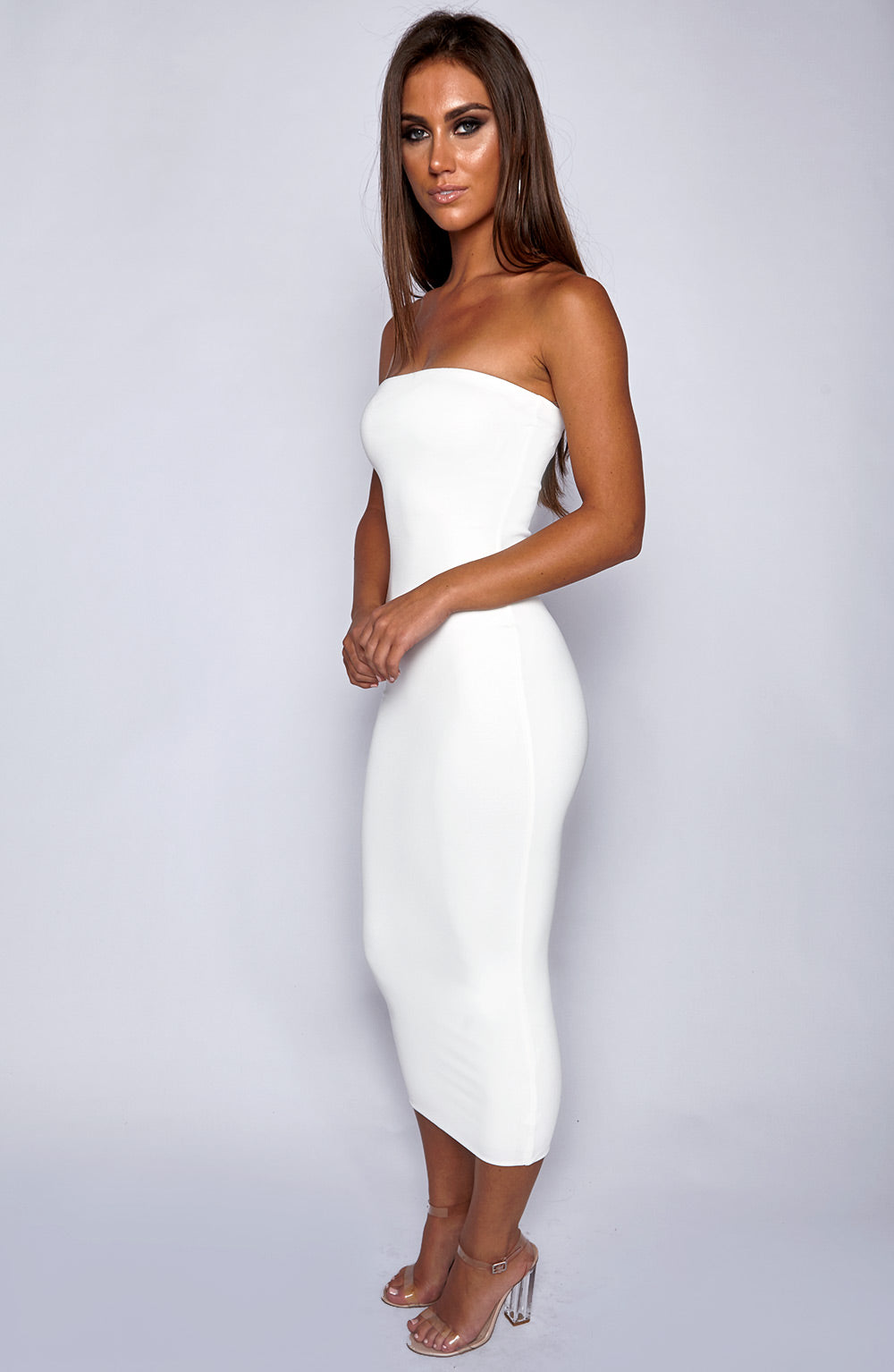In Style Maxi Dress - White