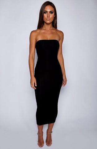 In Style Maxi Dress - Black