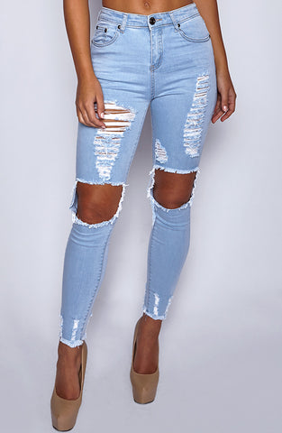 West Coast Jeans - Light Blue