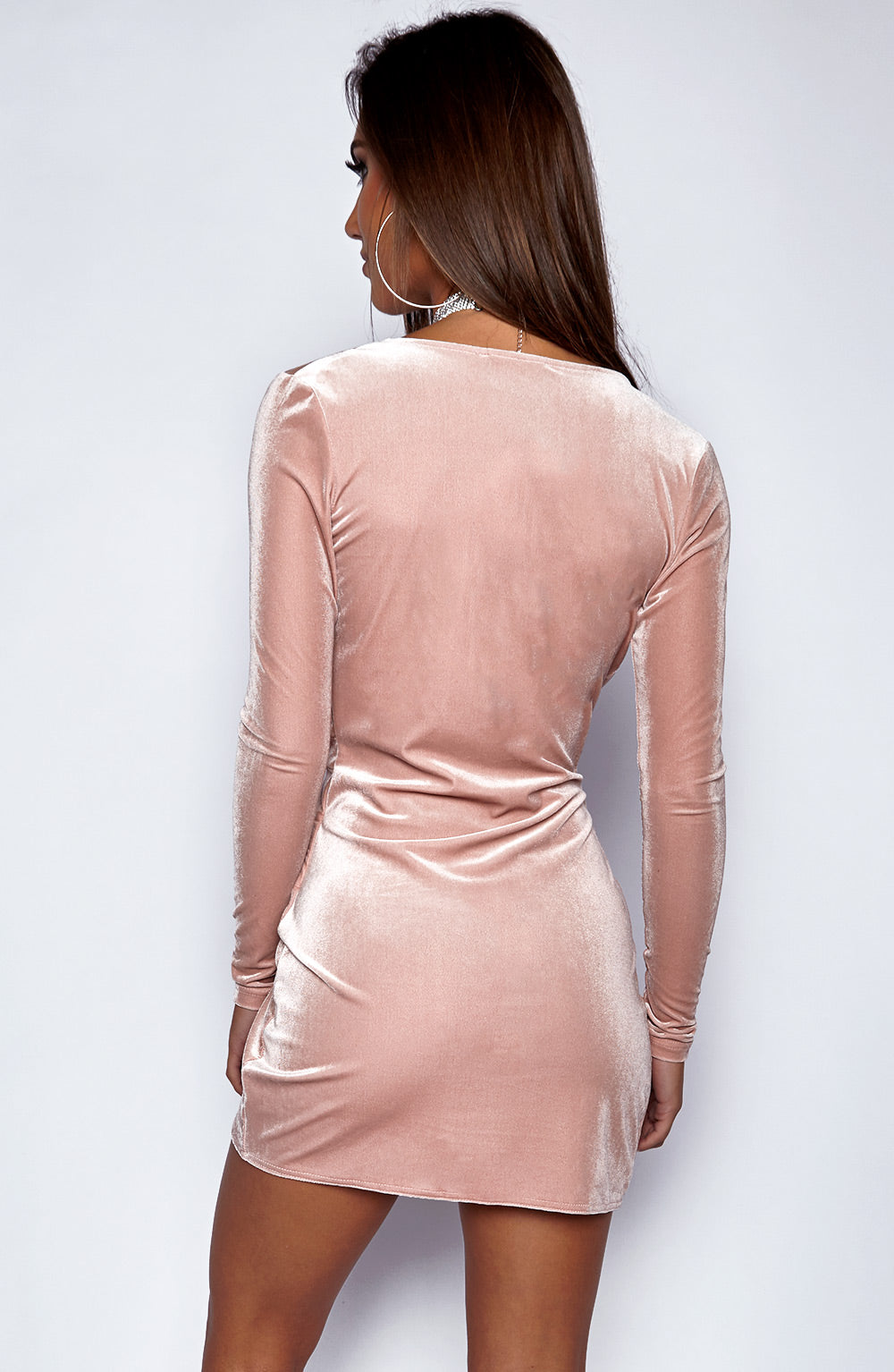 Alessandra Dress - Dusty Pink
