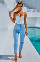 Tara Bodysuit - White