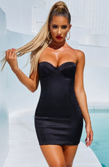 Tegan Mini Dress - Black