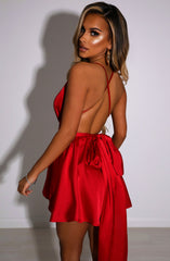 Unconditional Love Playsuit - Red