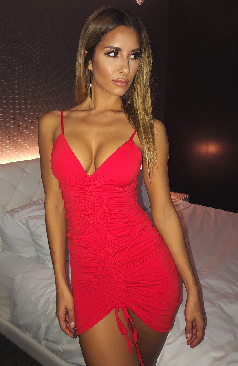 Essa Dress - Red