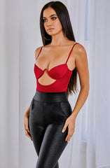 Yasmine Bodysuit - Red