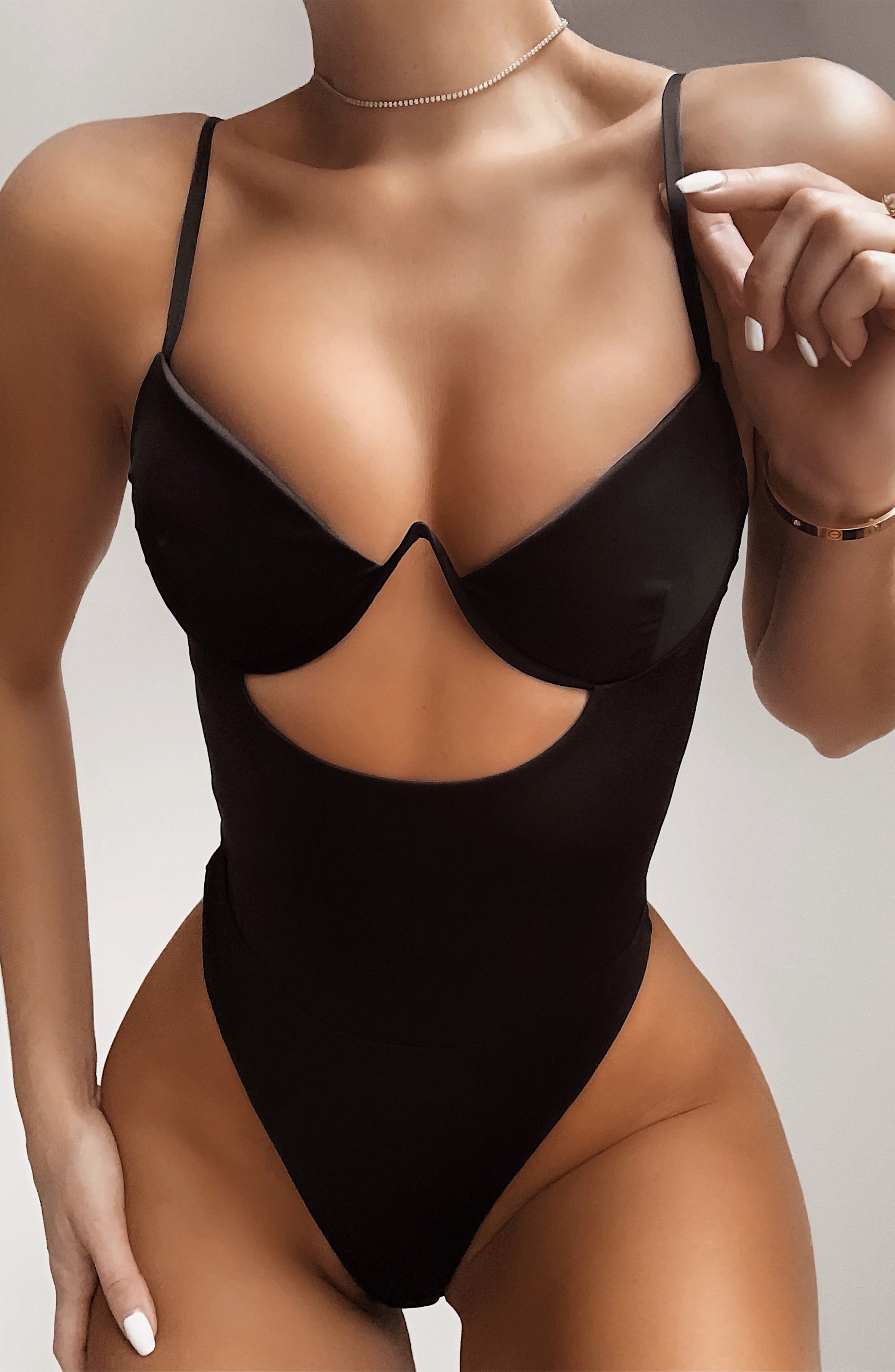 Yasmine Bodysuit - Black