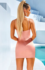 Yasmine Mini Dress - Baby Pink