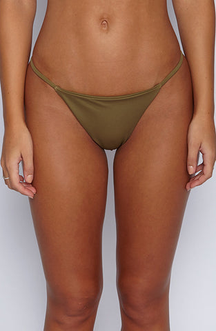 Ohana Swim - Plain Bae Bottom - Khaki