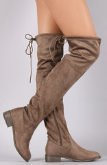 High Olympia Boots - Taupe