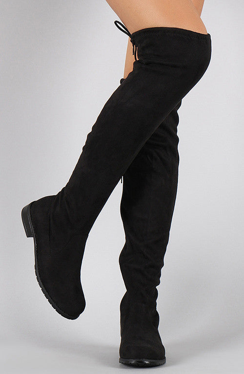 High Olympia Boots - Black
