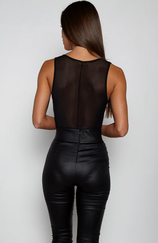 How Bout Dat Bodysuit - Black/ Print