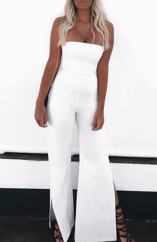 Rebel Heart Jumpsuit - White