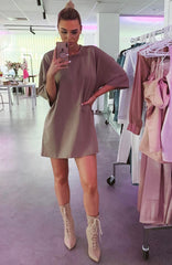 Shani Grimmond x Babyboo - No Thanks Shirt Dress - Mocha