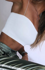 Kendal Crop - White