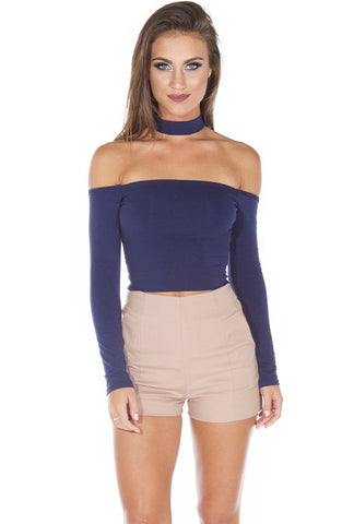 On Point Top - Navy