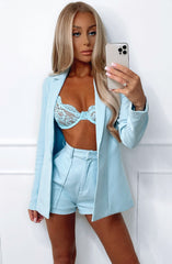 Natasha Shorts - Baby Blue