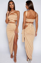 Zyla Wrap Set - Tan