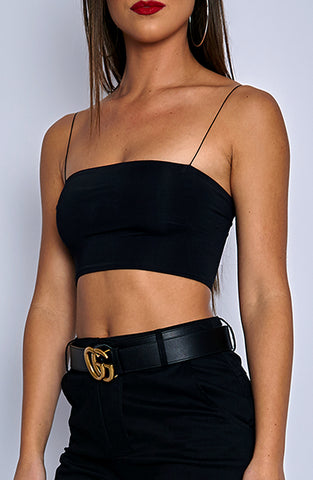 Kendal Crop - Black